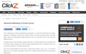 Interactive Marketing A Crash Course