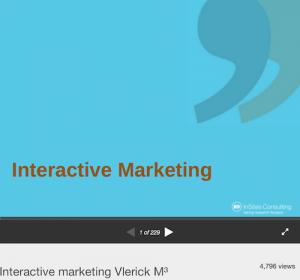 Interactive Marketing Vlerick M3