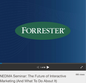 NEDMA Seminar The Future of Interactive Marketing And What To Do About It