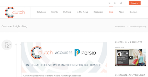 Clutch Loyalty Marketing Customer Insights Blog