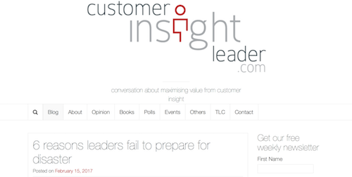 Customer Insight Leader