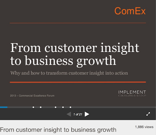 From Customer Insight to Business Growth