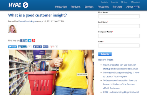 What is Good Customer Insight