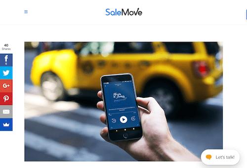 SaleMove Movers and Shakers