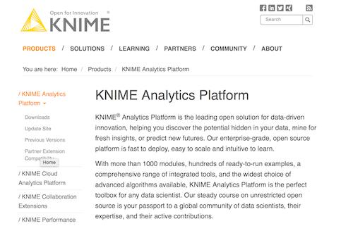 KNIME Analytics Platform