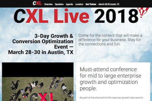 CXL Live 2018