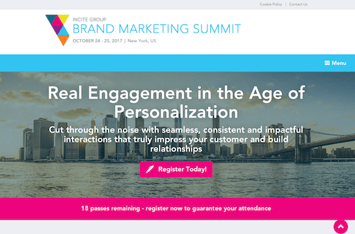 Incite Group Brand Marketing Summit