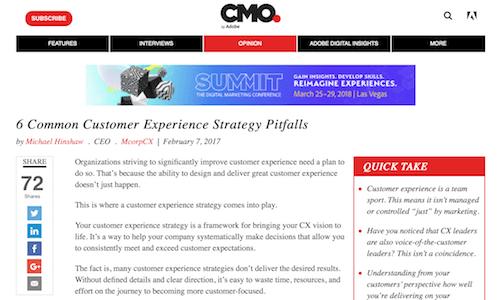 6 Common Customer Experience Strategy Pitfalls