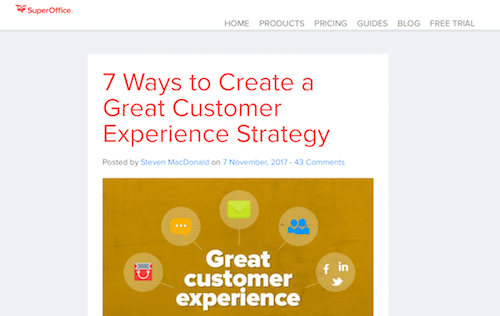 7 Ways to Create a Great Customer Experience Strategy