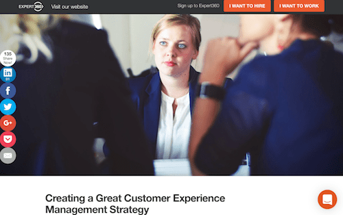 Creating a Great Customer Experience Management Strategy