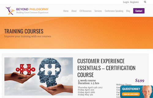 Customer Experience Essentials - Certification Course