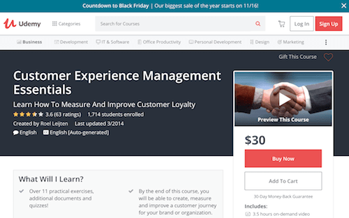 Customer Experience Management Essentials