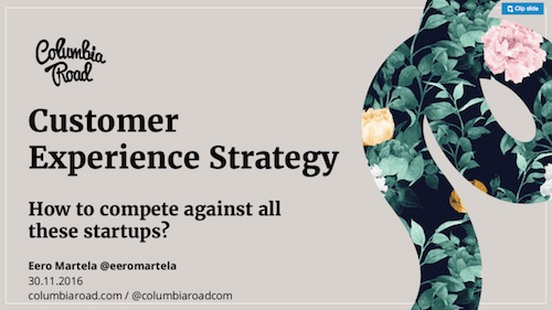 Customer Experience Strategy How to Compete Against All These Startups