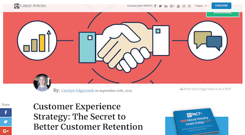 Customer Experience Strategy The Secret to Better Customer Retention