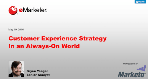 Customer Experience Strategy in an Always-On World