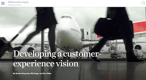 Developing a Customer-Experience Vision