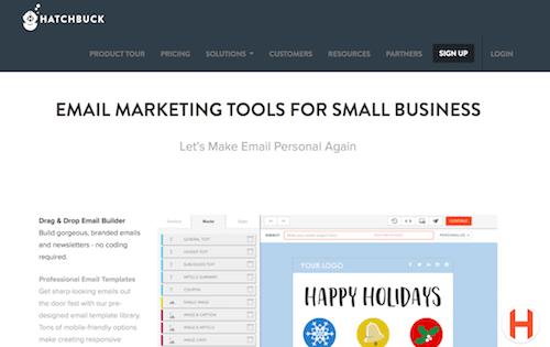 Hatchbuck Email Marketing