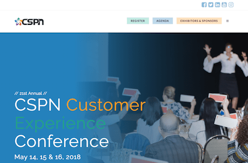 CSPN Customer Experience Conference