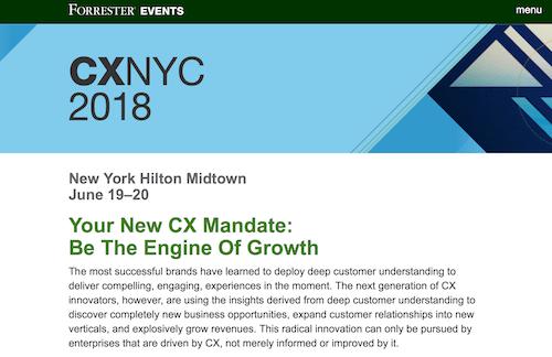 CXNYC 2018