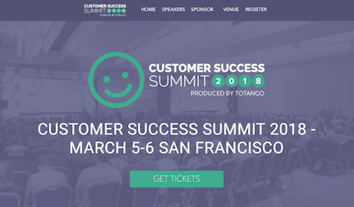Customer Success Summit 2018