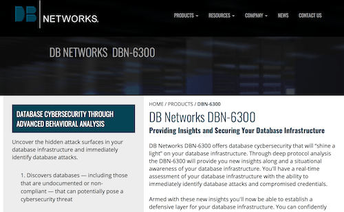 DB Networks DBN-6300