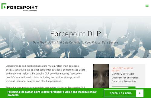Forcepoint DLP