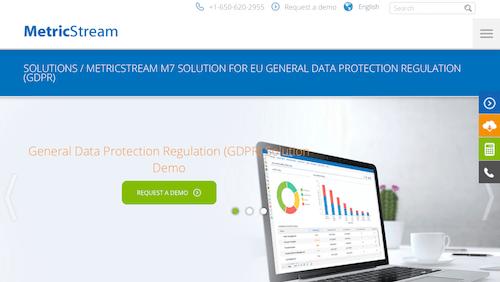 MetricStream M7 GRC Platform