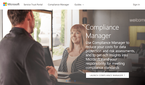 Microsoft Compliance Manager
