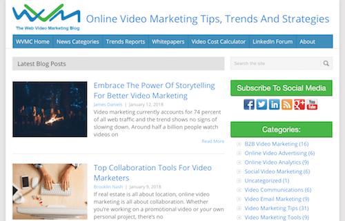 The Web Video Marketing Blog